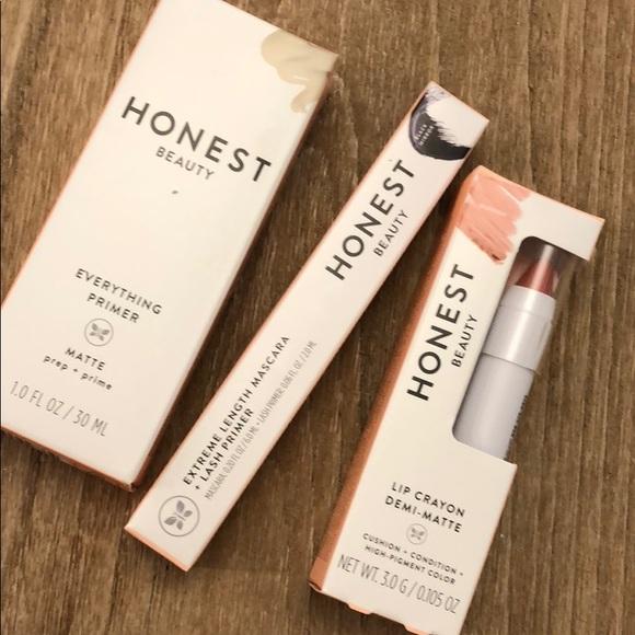 00f7c3c70cb Honest Beauty Makeup | New Primer Lip Crayon Mascara Bundle | Poshmark